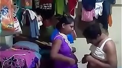 Indian Maid hard FUcked By Owner