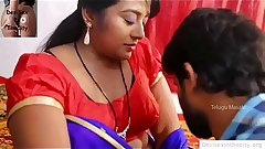 Indian Aunty Tempted Money Lender Sex With Him
