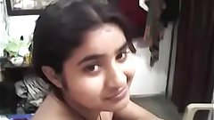 desi sexy young girl at home alone with boyfriend